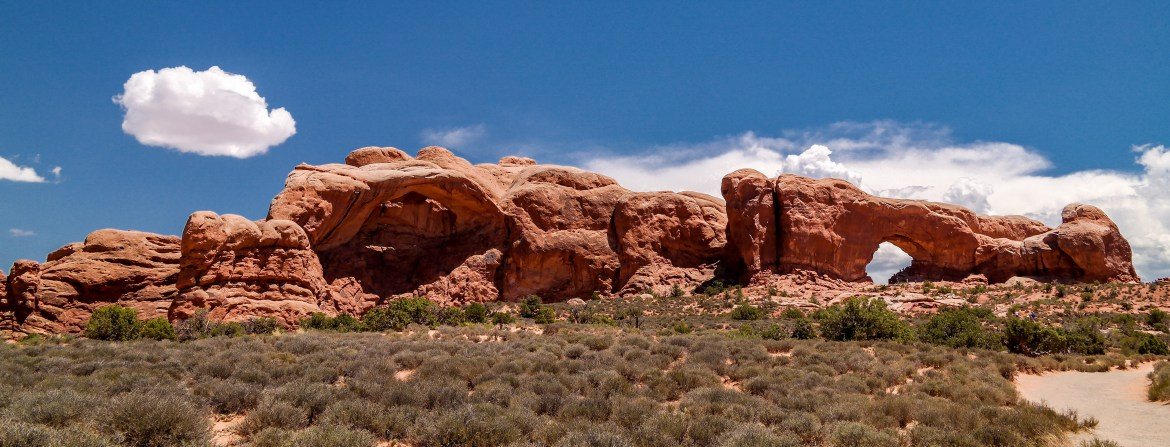 Arches National Park Utah #windowarchhike
