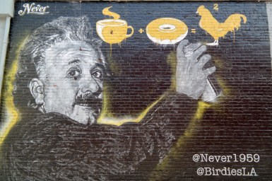 Birdies Los Angeles California #streetartLA