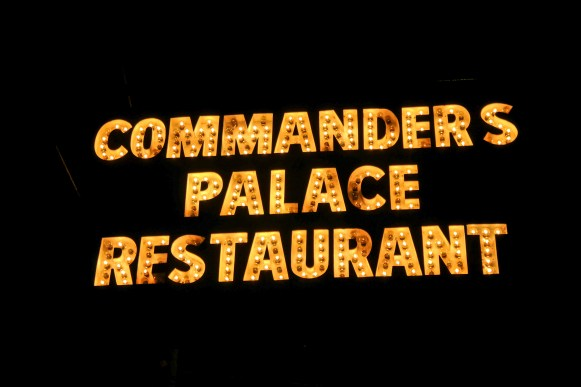 Commanders Palace New Orleans Louisiana