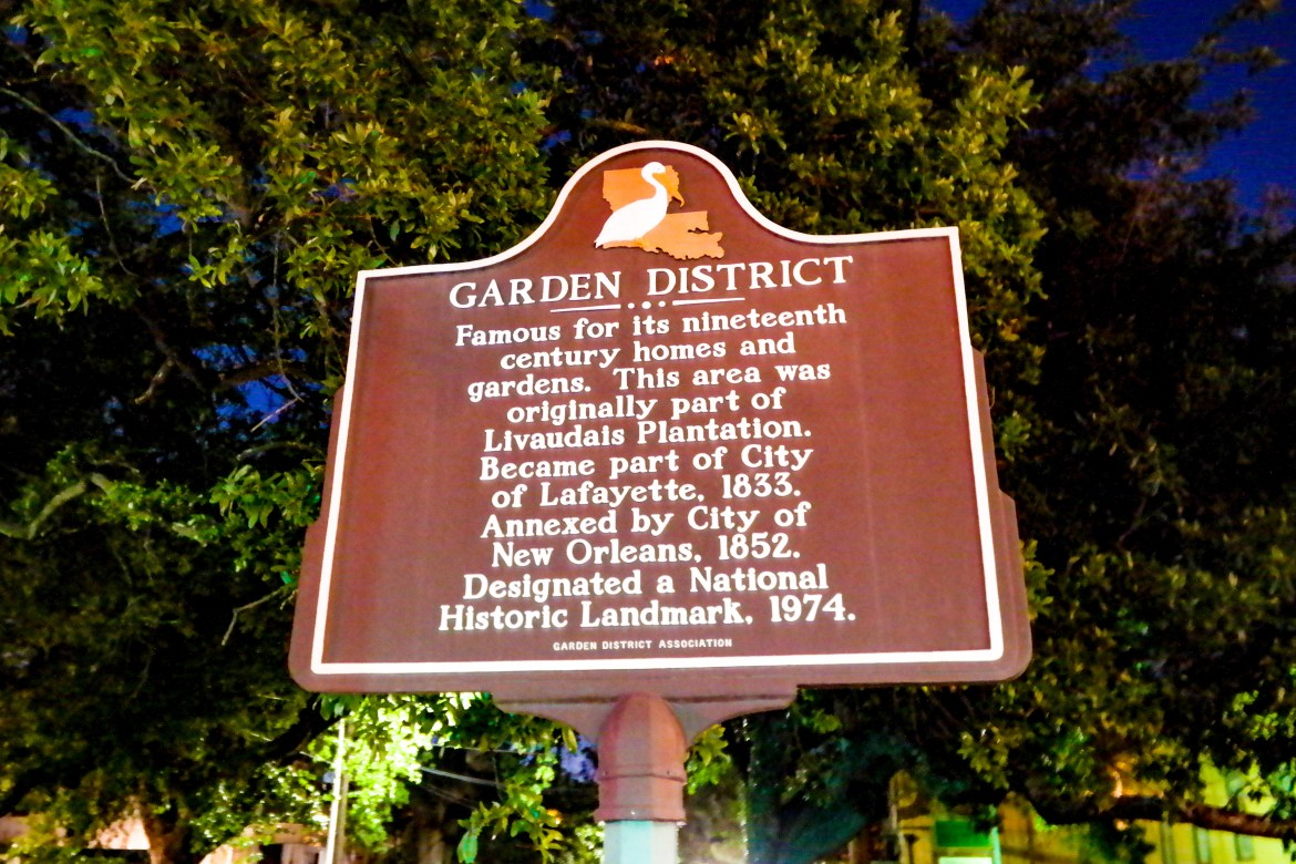 Garden District New Orleans Louisiana #gardendistrict