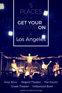 Music Venues in Los Angeles California #musicvenuesLA
