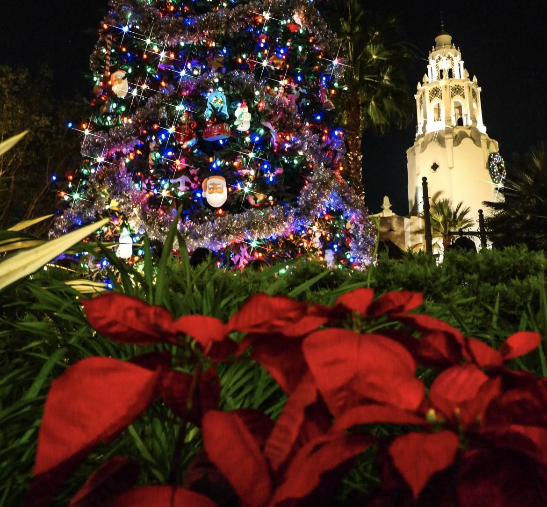 Christmas Decorations California Adventure Disneyland California