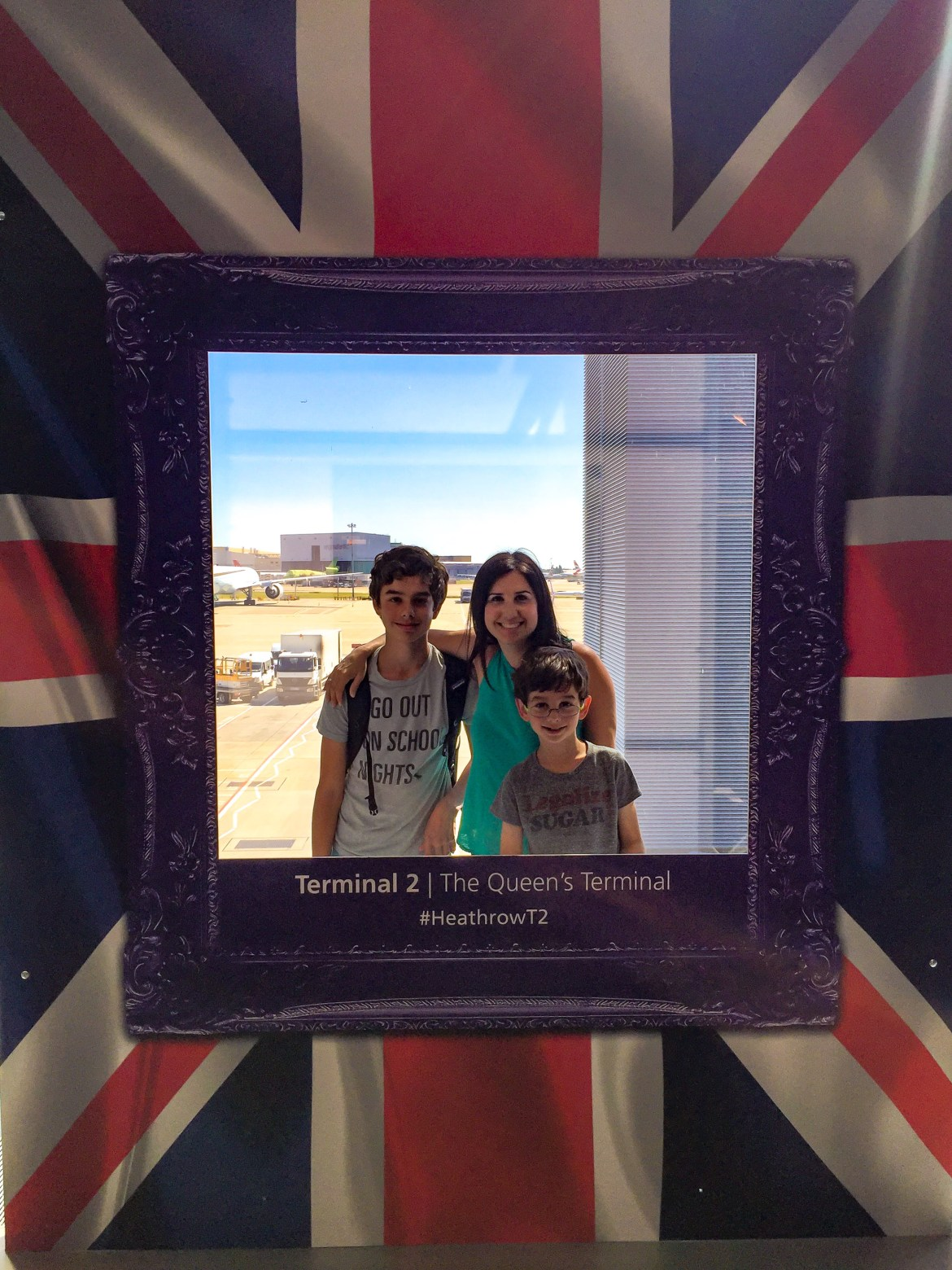 Travel with Kids Heathrow Airport London England