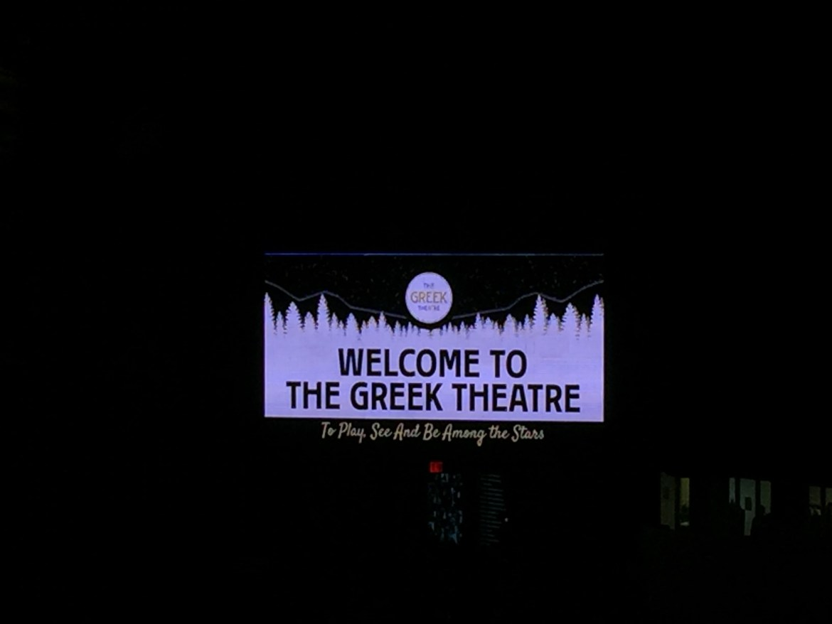 The Greek Theater Los Angeles California