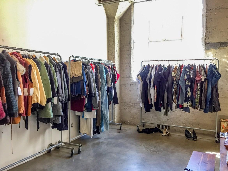 Sample Sale Fashion District Los Angeles California