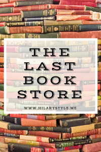 The Last Book store Downtown Los Angeles California