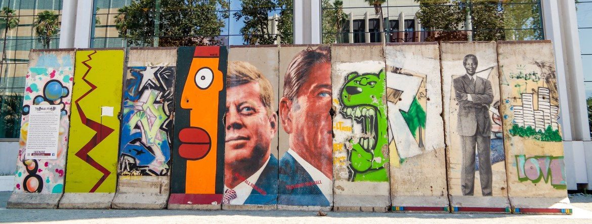 Berlin Wall Los Angeles California