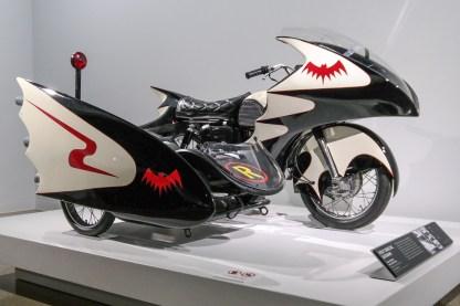 Bat Cycle Peterson Automotive Museum Los Angeles California