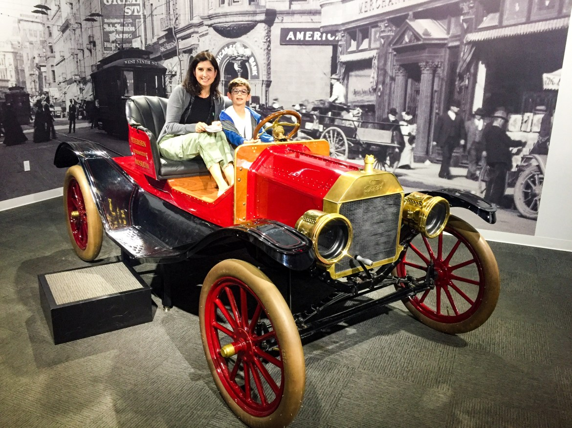 Peterson Automotive Museum Los Angeles California