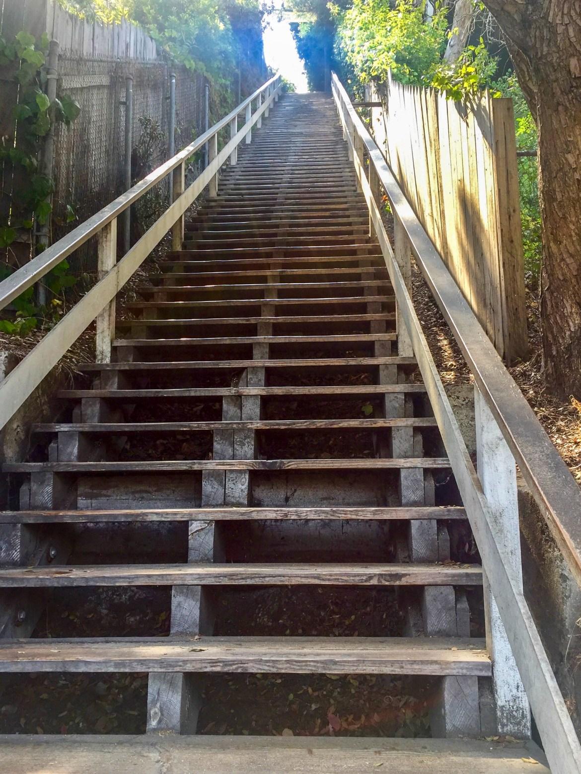 Santa Monica Stairs Santa Monica California
