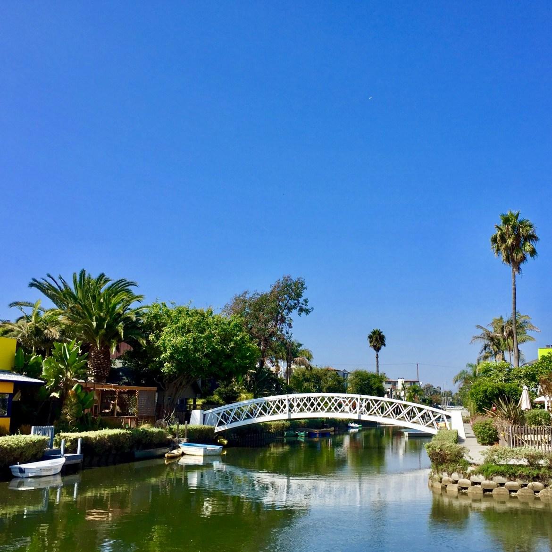 Venice Canals Los Angeles California