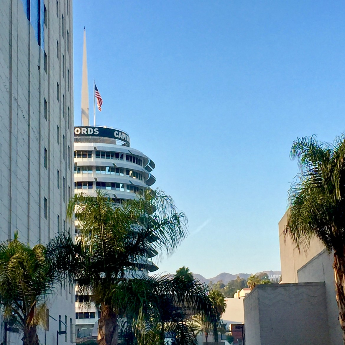 Icons of LA Capitol Records Building
