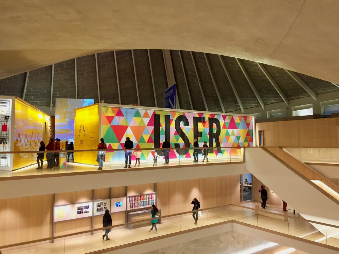 Things to do with kids in London #designmuseum