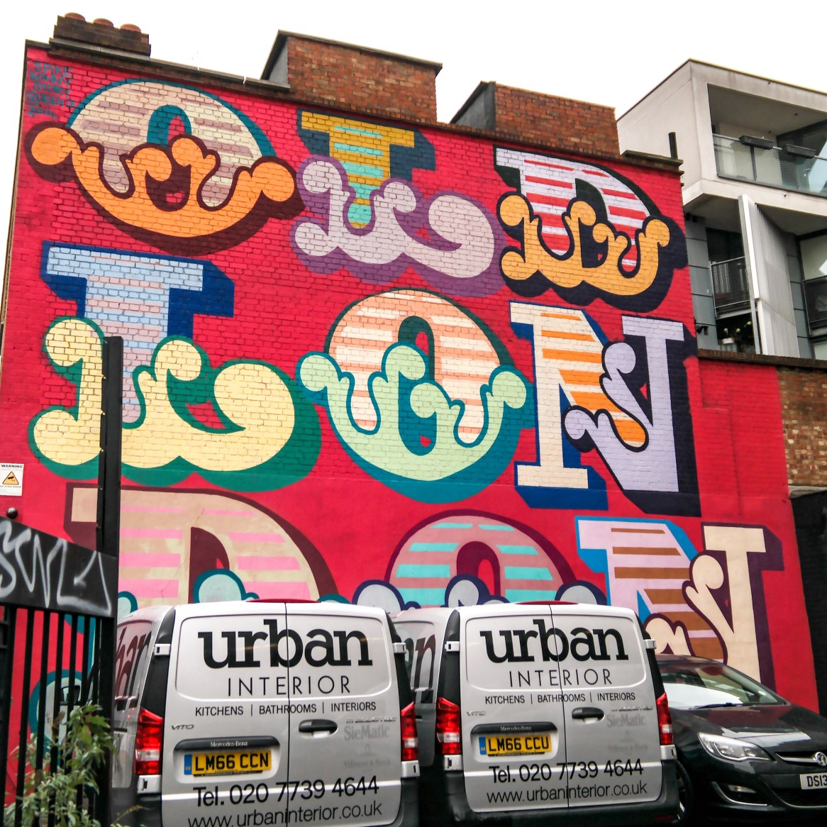 #einegraffiti Shoreditch Street Art London
