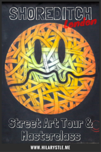 Street art tour Shoreditch London #streetartlondon