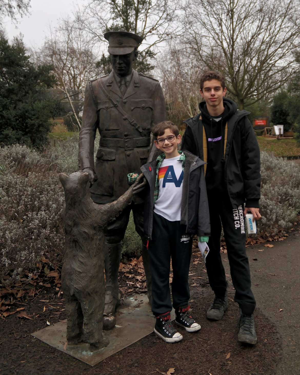 London with kids London Zoo #winniethepooh
