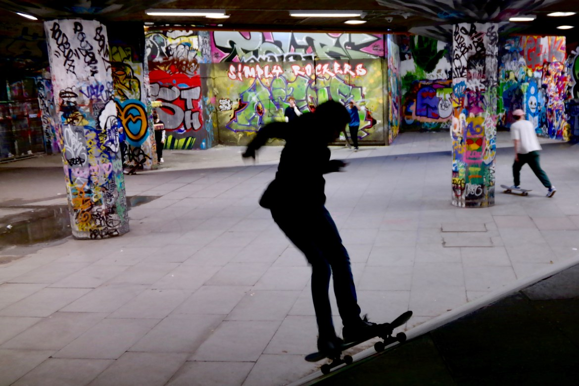 Things to do in London with Kids #skatepark