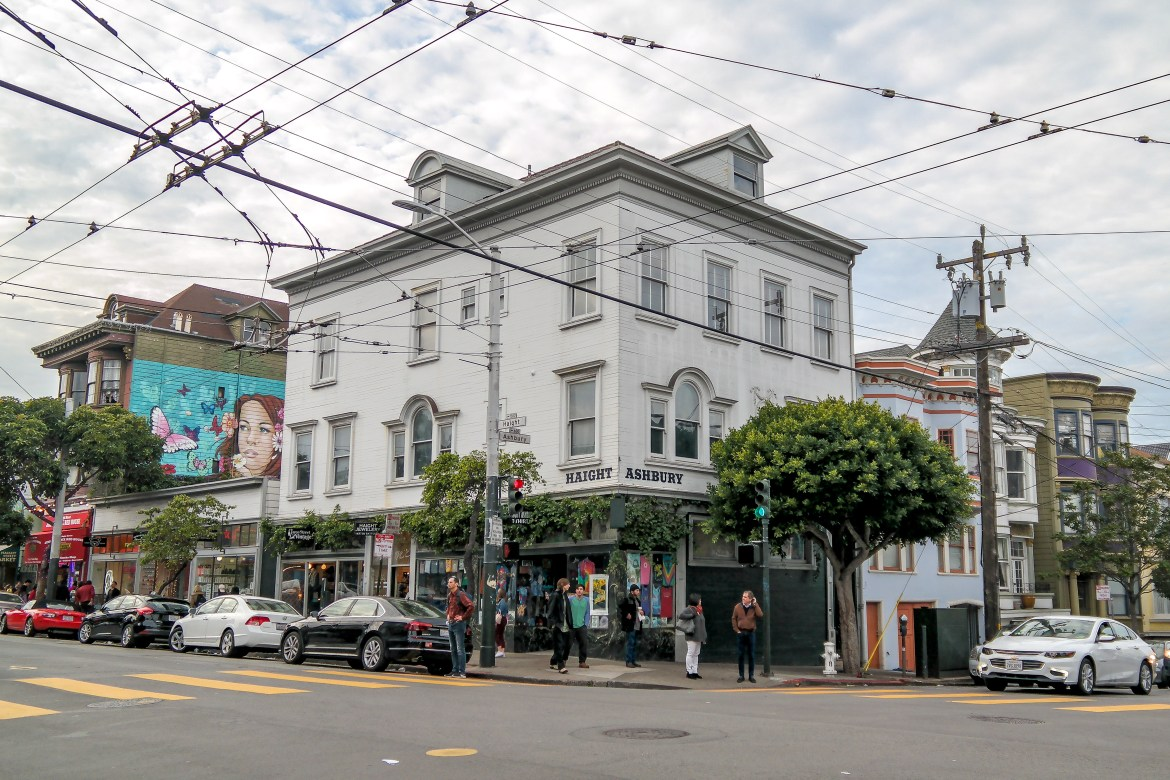 Haight Ashbury San Francisco California