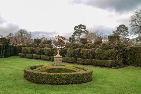 Hever Castle Gardens Kent England United Kingdom