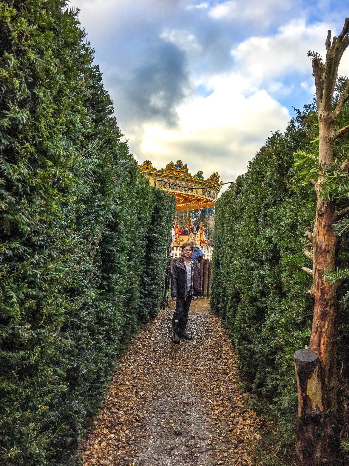 Hever Castle Maze Kent England United Kingdom