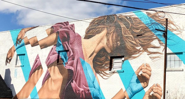#jamesbullough Street art on The BeltLine Atlanta Georgia