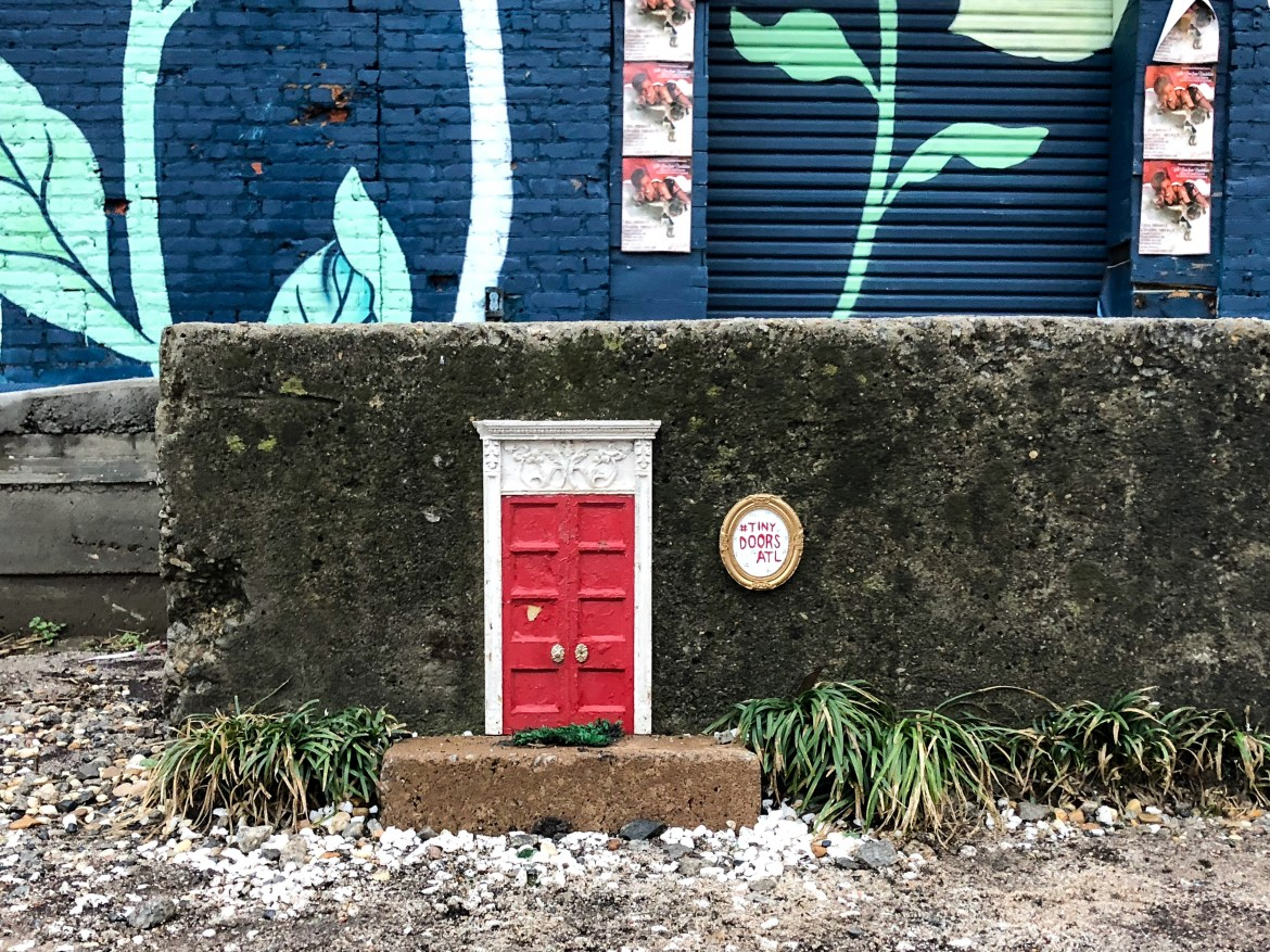 #tinydoorsatl The Beltline Atlanta Georgia