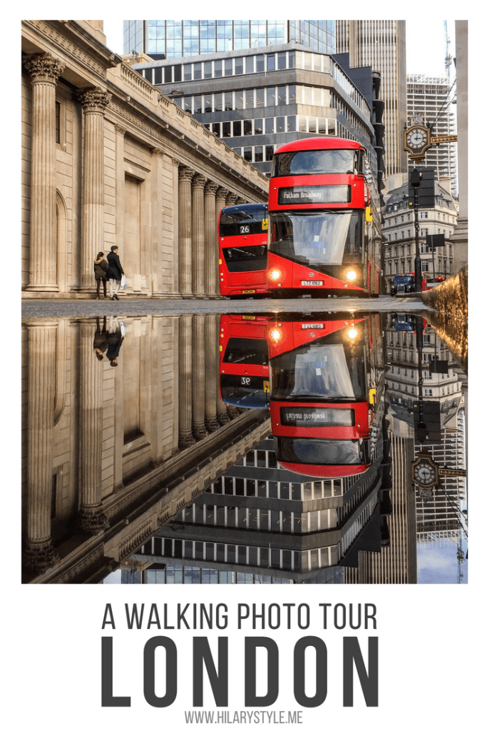 The City of London Walking Photo Tour #phototour