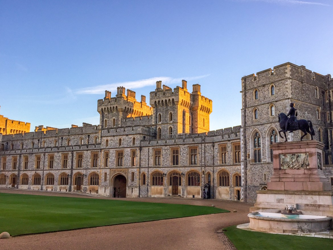 Windsor Castle Quadrangle #windsorcastle