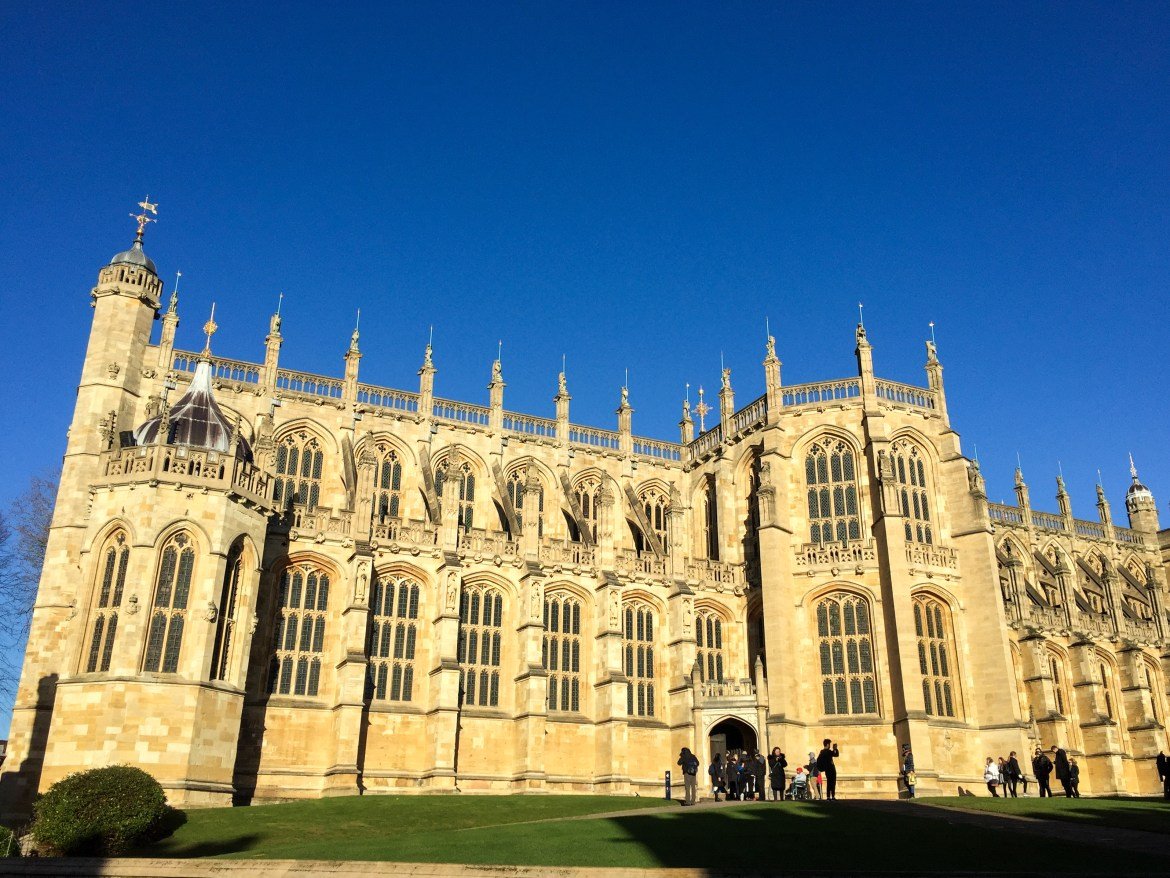 Windsor Castle St. George's Chapel England United Kingdom