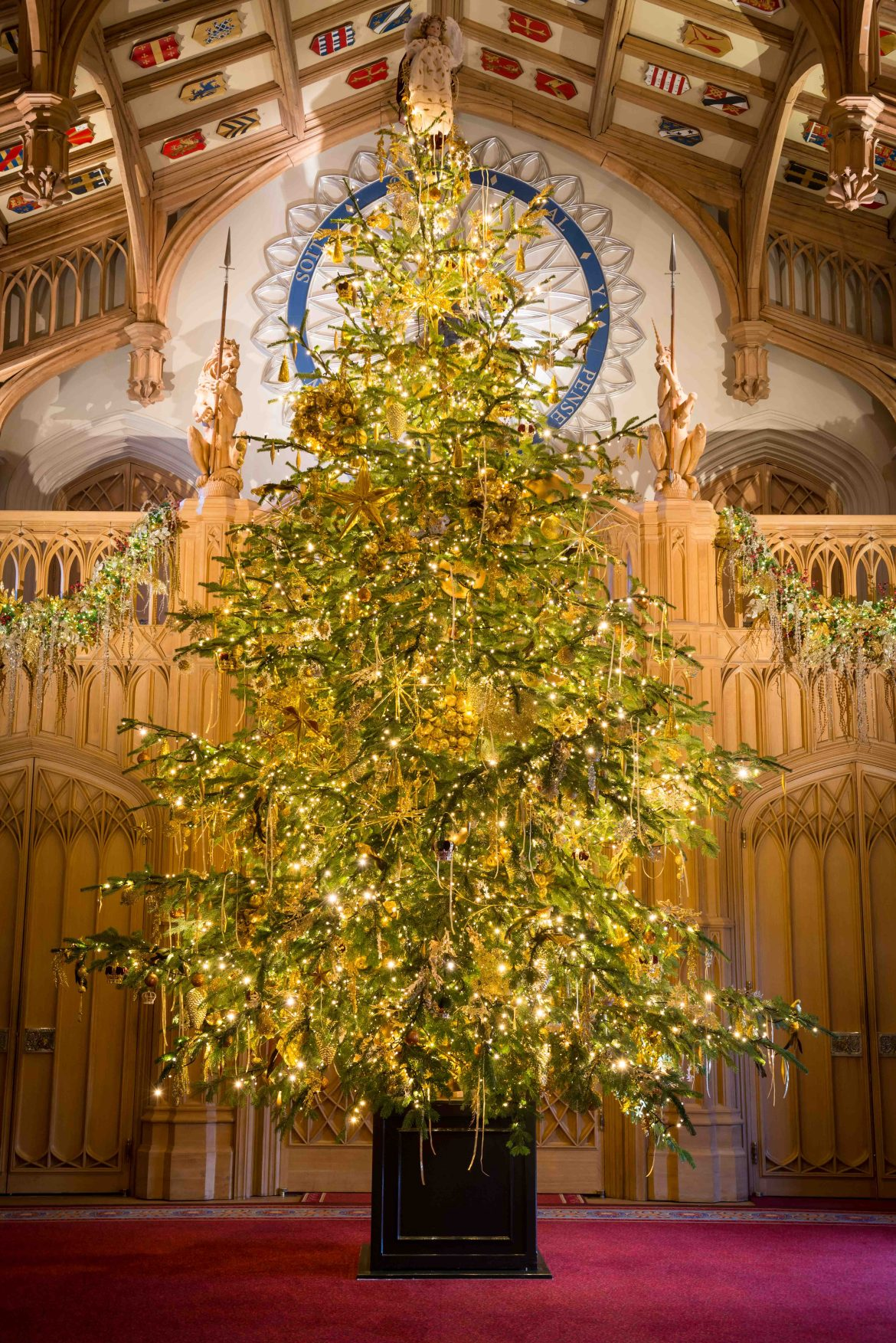 Christmas at Windsor Castle, Royal Collection Trust/(C)Her Majesty Queen Elizabeth II 2017