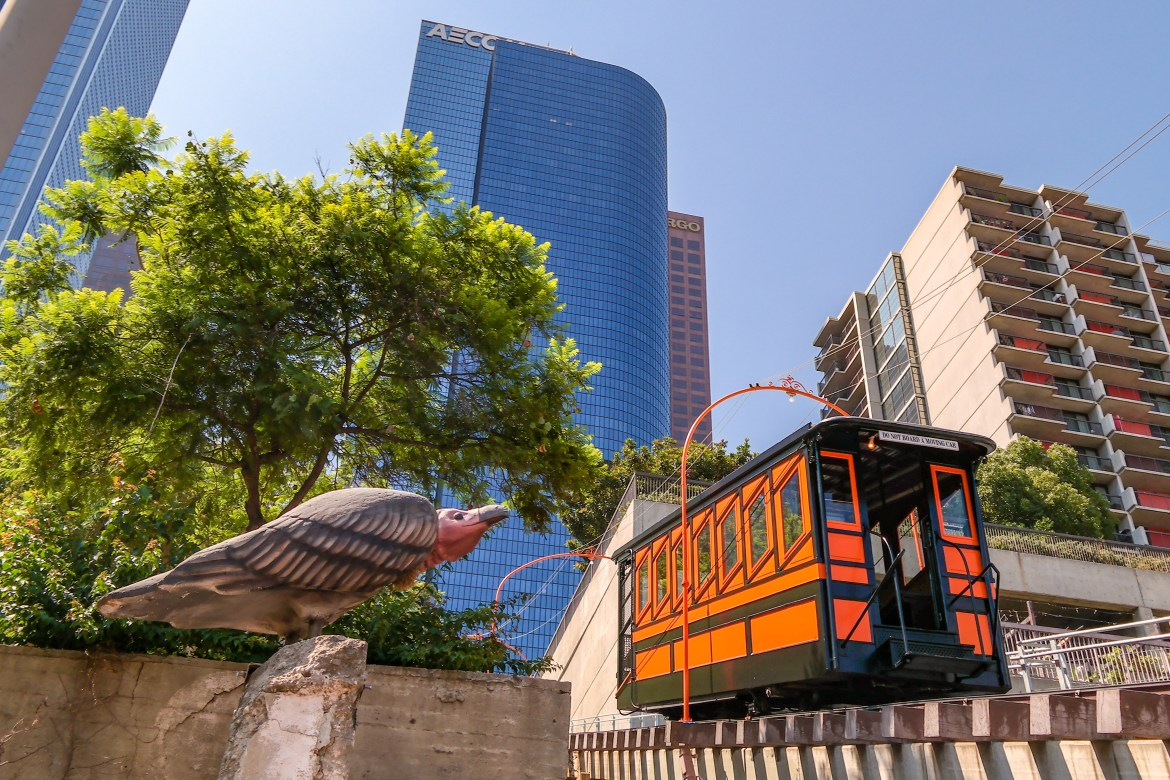 Angels Flight LA LA Land Film Locations