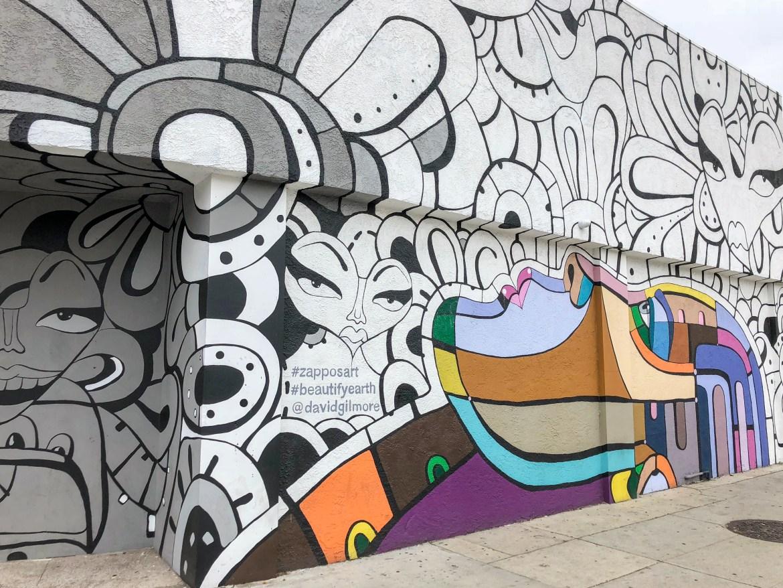 Koreatown street Art David Gilmore Los Angeles California