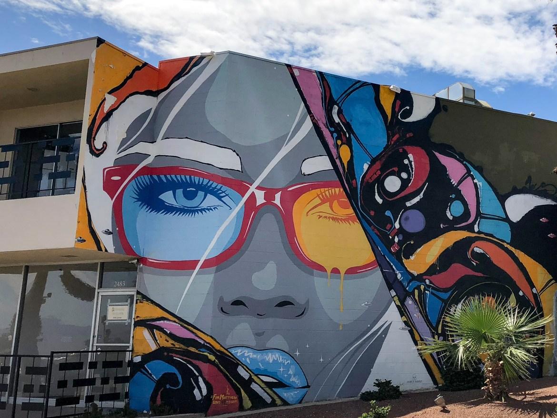 #jameshaunt Street Art Palm Springs California