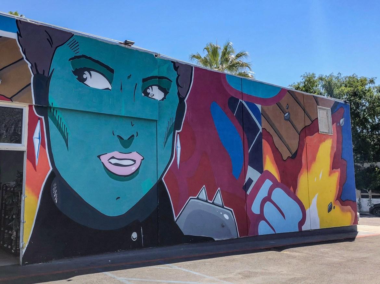 #johnmoody Street Art Palm Springs California