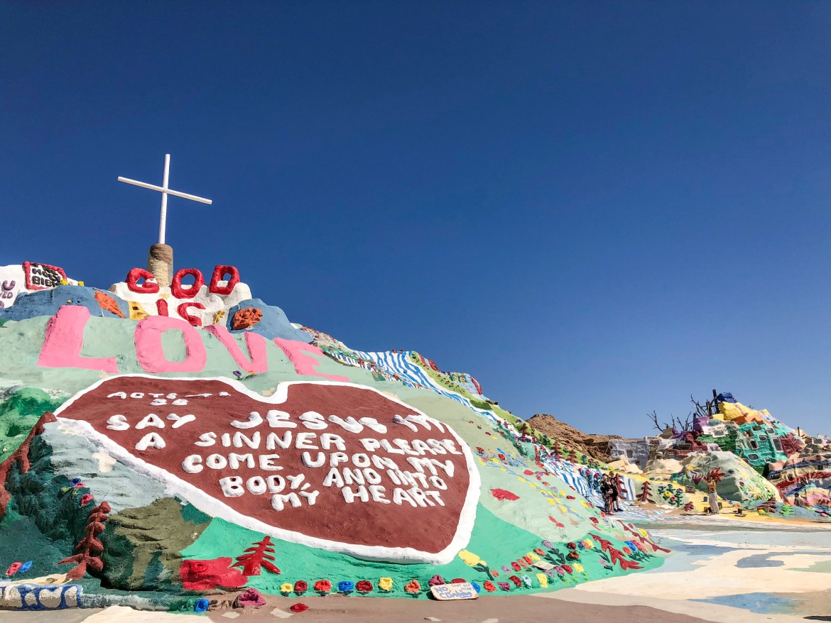 Salvation Mountain Niland California