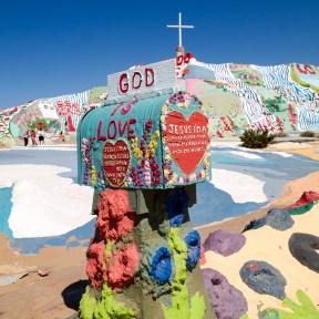 Salvation Mountain Niland California