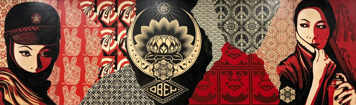 #obey #ShepardFairey Beyond The Streets Los Angeles