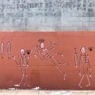Artist Unknown Street Art Los Angeles Mission Junction