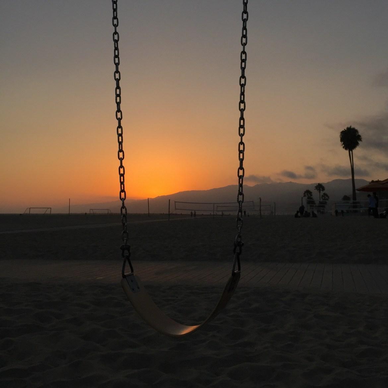 Back on the Beach Santa Monica California