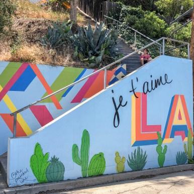 Swan Stairs Los Angeles California