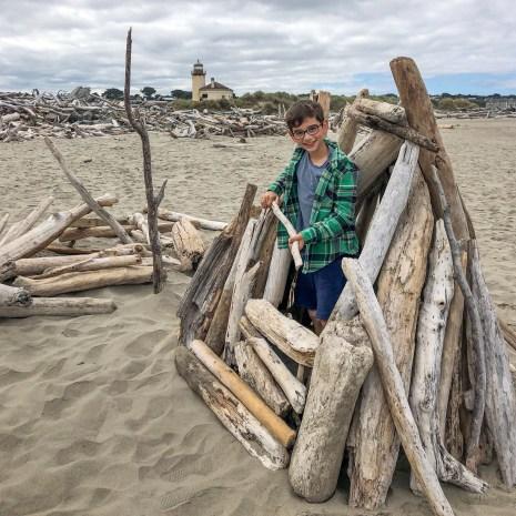 Bandon Beach Driftwood Elliot -