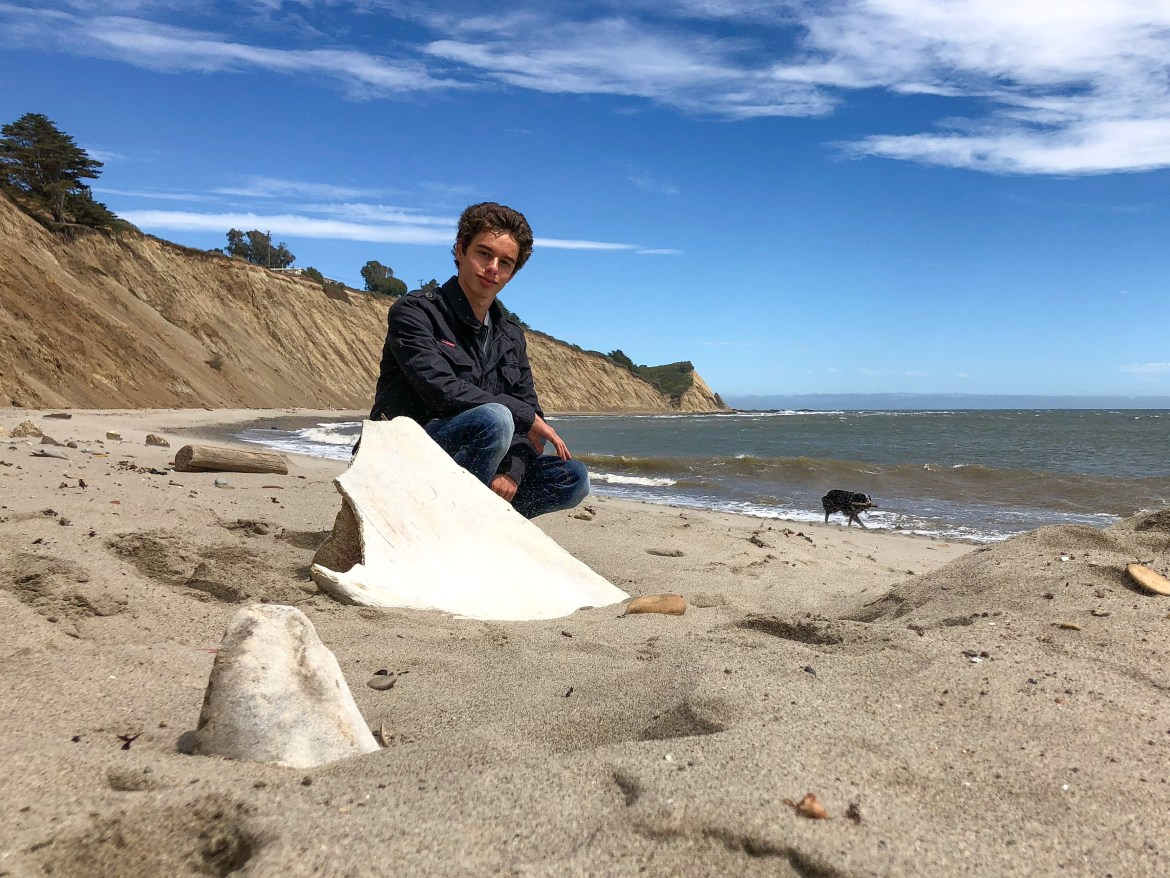 Family fun at Agate Beach Bolinas California