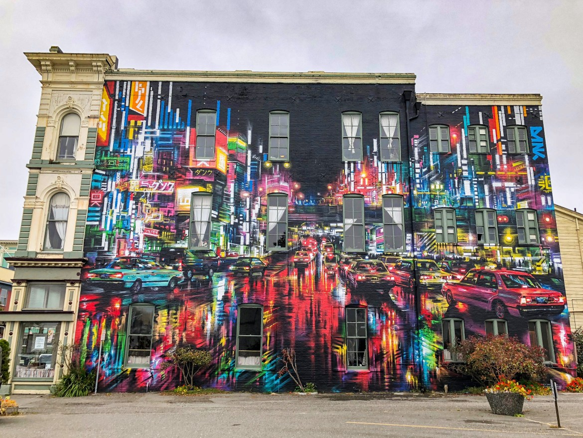 Dan Kitchener Street Art Eureka California