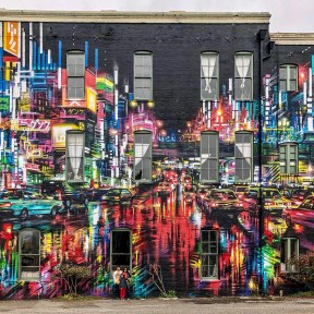 Dan Kitchener Street Art Eureka California