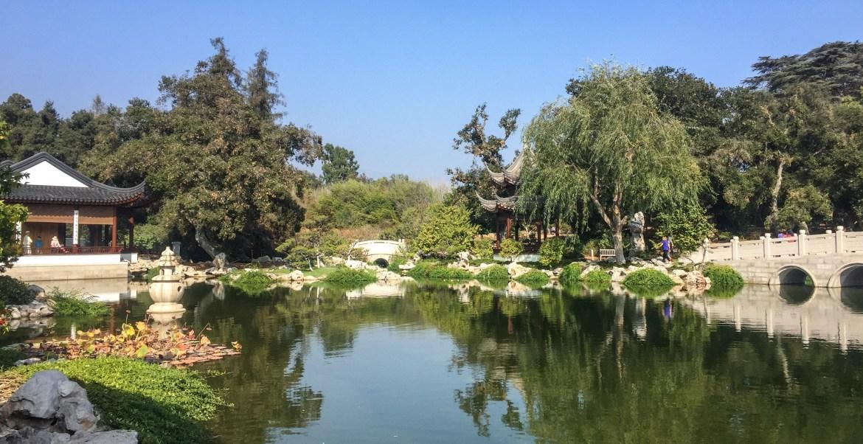 Huntington Chinese Garden San Marino Los Angeles California