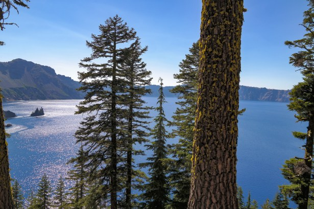 Phantom Ship Island Crater Lake Oregon
