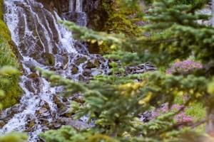Vidae Falls Crater Lake Oregon