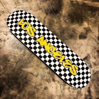 Los Angeles Skateboard hilarystyle