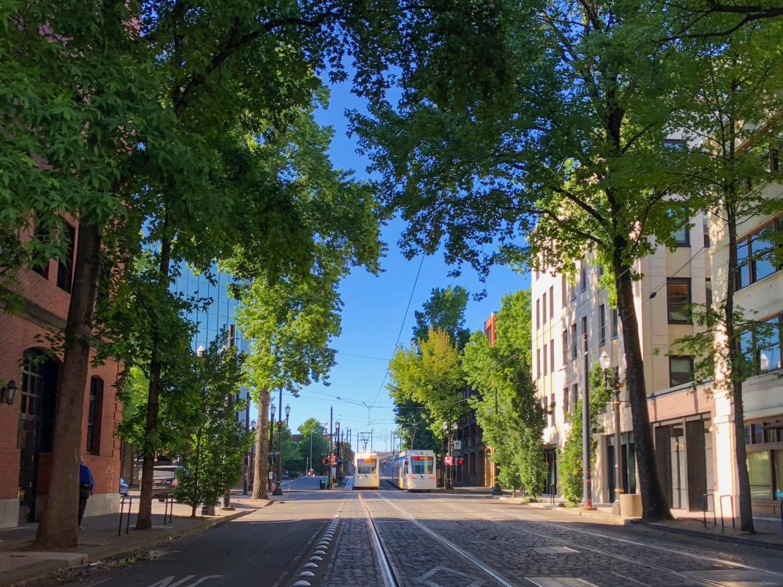 Portland Streetcar Portland Oregon