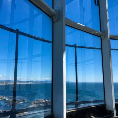 View from Yaquina Head Lighthouse Tower